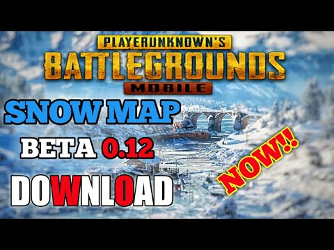 PUBG MOBILE - SNOW/VIKENDI MAP DOWNLOAD | BETA 0 12 CHIENESE VERSION | PUBG  VIKENDI | WHAT'S NEW - Game of Drugz