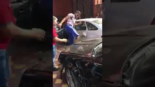 В Ингушетии завязалась массовая драка и стрельба за место в свадебном кортеже.