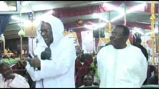 Cheikh Ahmadou KARA Mbacké au Gamou de Serigne Cheikh Béthio Thioune à Touba Mermoz Janatoul Mahwa