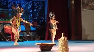 Sarawak Cultural Village - Iban Dance (Ngajat Lesung)