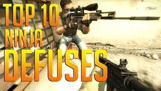CS:GO - Top 10 | Ninja Defuses