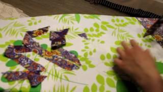Как сделать косую бейку с помощью иголки