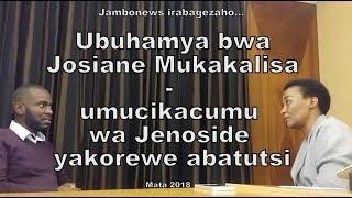 Ubuhamya bwa Josiane Mukakalisa wacitse kwicumu jenoside yakorewe Abatutsi
