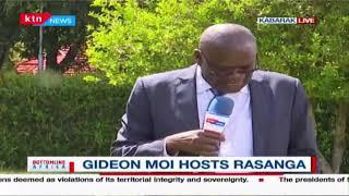 Gideon Moi hosts Siaya governor Cornel Rasanaga at his Kabarak home