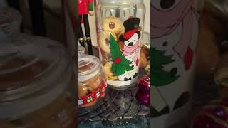 Christmas (Cookie Jars). How To Decorate Your Kitchen Counter With Cookie Jars For Christmas.