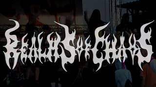 Video Realms Of Chaos - To Consume live @Flesh Party Open Air 2019