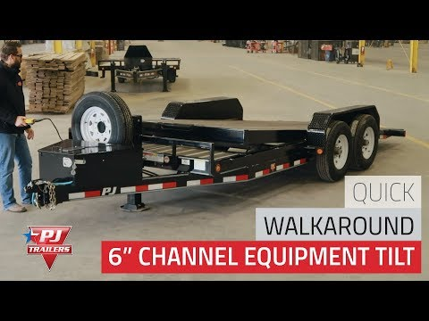 2019 PJ Trailers TJT2082BTTK in Hillsboro, Wisconsin - Video 1