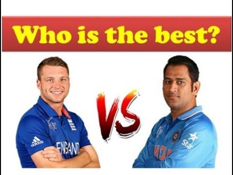MS Dhoni vs Jos Butler batting comparison || India vs England ODI Series 2018