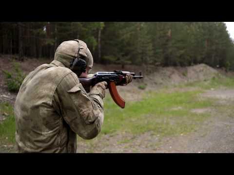 Охолощенный автомат Калашникова АКМ (ВПО-925) Kalash AK - 47 видео