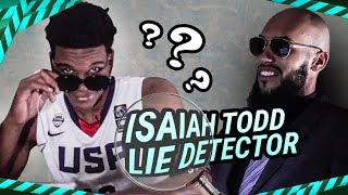 """I'm The BEST HOOPER."" The Most AGGRESSIVE Lie Detector With Isaiah Todd SNAPPING At Larry!"