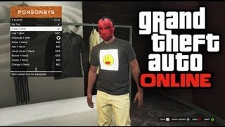 GTA 5 Online - How To Create Your Own Emblem / Custom Shirt (GTA V Online)