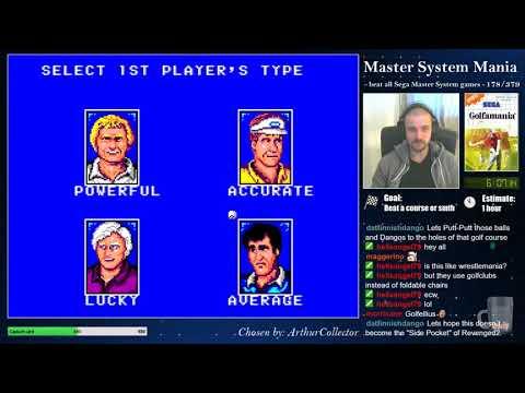 Master System Mania - 178/379 - Golfamania