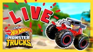 🔴 LIVE: Monster Trucks Tournament Of Titans | Monster Trucks | @Hot Wheels