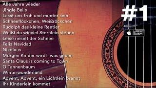 15 Weihnachtslieder auf der Gitarre - Die schönsten Weihnachtslieder #1 - Video Mix - Playlist