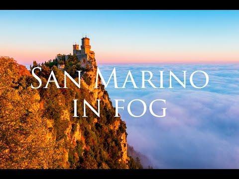 סן מרינו הקסומה והמעורפלת באיכות 4K