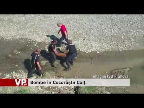 Bombe în Cocorăștii Colț