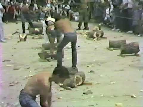 FIESTAS DE VILVIESTRE DEL PINAR  AGOSTO 1983