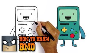 How To Draw Adventure Time | BMO