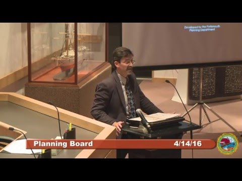 Planning Board - West End Zoning 4.14.16