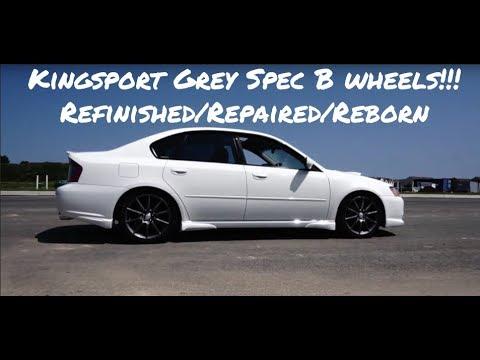 2006 Subaru Legacy GT: Kingsport Grey SPEC B Wheels! Videoshoot!