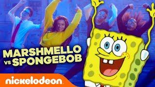 SpongeBob vs. Marshmello - HAPPIER | Matt Steffanina Choreography | Nick Dance Mashup