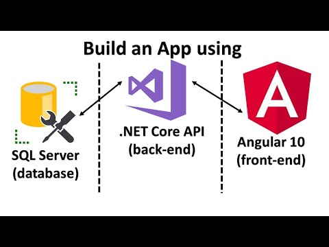 Learn Angular 10, .NET Core Web API & SQL Server by Creating a Web Application from Scratch