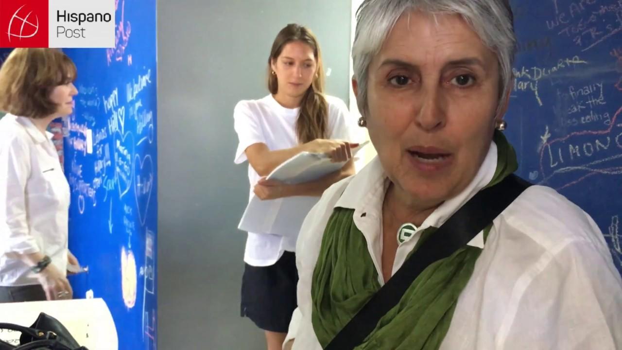 Voluntarios de Hillary desmontan el centro en Miami