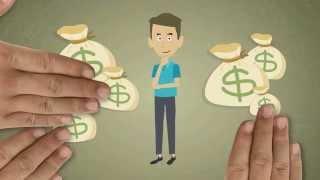 Анимационный видеоролик на тему: как избавиться от долгов