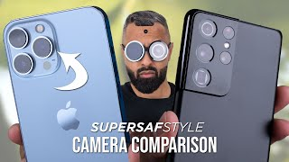 iPhone 13 Pro Max vs Samsung Galaxy S21 Ultra Camera Test Comparison