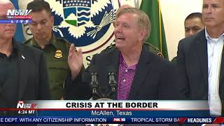 STOPPING ILLEGALS: Lindsey Graham Unveils BORDER CRISIS PLAN