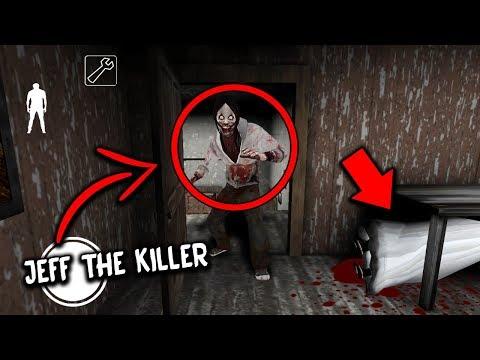 I found JEFF THE KILLER in Granny Horror Game... HE KILLED GRANNY! (Granny Mobile Horror Game) (видео)