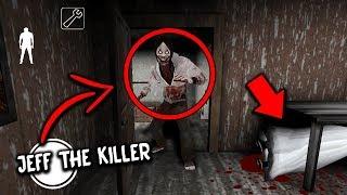 I found JEFF THE KILLER in Granny Horror Game... HE KILLED GRANNY! (Granny Mobile Horror Game)