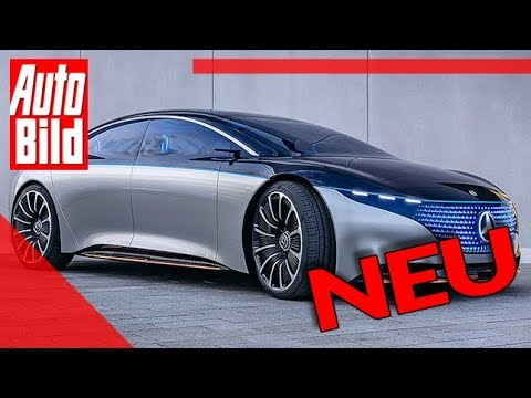 Mercedes Vision EQS (2020): Auto - Neuvorstellung - Studie - Elektro