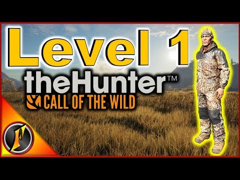 Starting Over at Level 1 | theHunter Call of the Wild