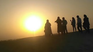 When is sunset in jaisalmer