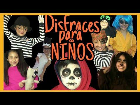 DISFRACES PARA NIÑOS DE ÚLTIMO MOMENTO/WENDY SANHER