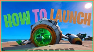 Spaceship Found In Fortnite - How To Repair / Launch The New Ship - FORTNITE BATTLE ROYALE
