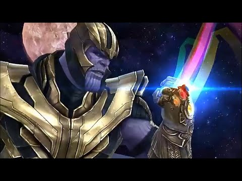 Endgame Update - Thanos T3 Skill / New Uniforms Gameplay (Hulk,Ironman,Nebula) - Marvel Future Fight