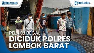 Kabur hingga ke Bali, Begal Sadis Akhirnya Diciduk Tim Puma Polres Lombok Barat