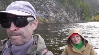 Ловля хариуса на горной реке темник
