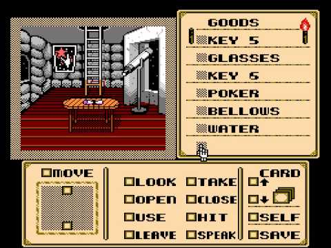 Shadowgate (NES) in 07:41,99 by Randil