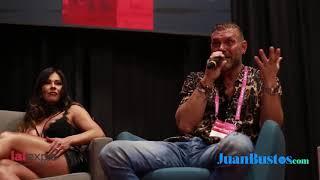 Esperanza Gómez y Nacho Vidal se confiesan con Juan Bustos