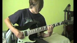 DragonForce - once in a lifetime guitar cover [full song] 14 year old