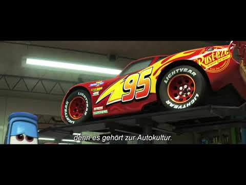 Cars 3: Evolution - Die Bunte Welt: Blu-ray-Trailer (2018) German English [HD]
