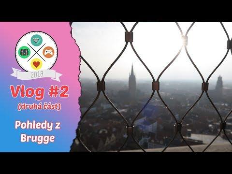 Vlog #2: BELGIE | Pohledy z Brugge (2/2)