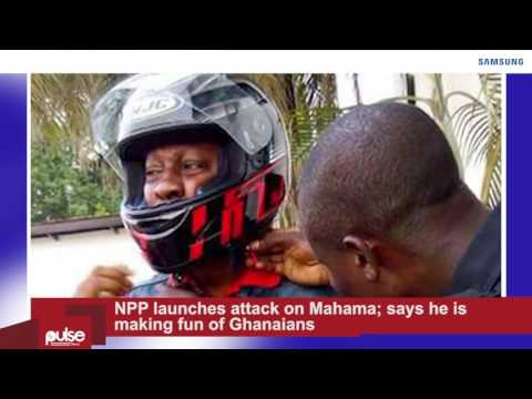 News On The Go: NPP launches attack on Mahama; says he is making fun of Ghanaians