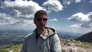Гімн України🇺🇦 на вершині гори Savin Kuk (2313 м)
