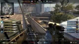 Fnatic olofmeister Overpass boost Vs LDLC full second half with Commentry .