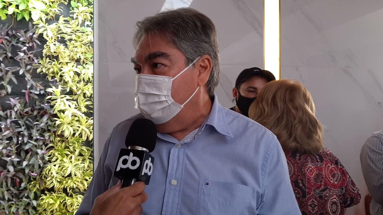 Lindolfo visita Hospital Regional e anuncia implantação da UTI Neo Natal