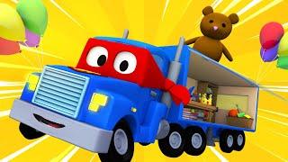 Videa s náklaďáky pro děti - Prodejní náklaďák - Supernáklaďák ve Městě Aut